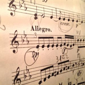 Musica Allegro Ilustracion