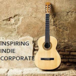musica inspiring indie corporate ilustración