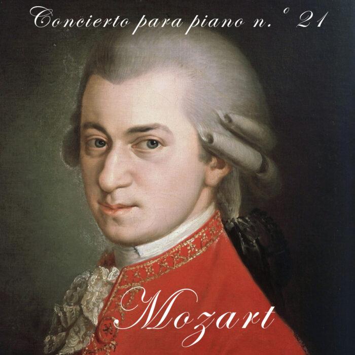 musica mozart concierto para piano ilustración